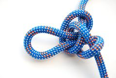 Alpine butterfly knot Stock Image
