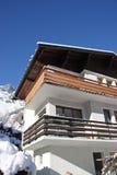 Alpine cabin Stock Photos