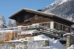 Alpine cabin Royalty Free Stock Image