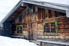 Alpine cabin Stock Image