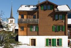 Alpine Chalet Stock Images