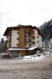 Alpine Chalet Royalty Free Stock Photo