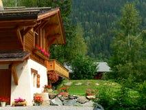 Alpine chalet Stock Image