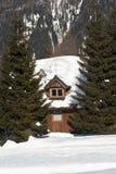 Alpine Chalet Stock Photography