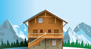Free Alpine Chalet Royalty Free Stock Photo - 61927935
