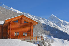 Alpine Chalet Royalty Free Stock Images