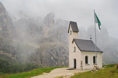 Alpine church Royalty Free Stock Photos