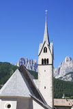 Alpine Church Stock Photography