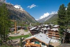 Alpine Construction Site Stock Images
