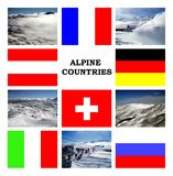 Alpine Countries Royalty Free Stock Images