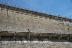 Alpine dam Royalty Free Stock Image