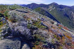 Alpine Einstellung in den Adirondack-Bergen, Staat New York Stockbilder
