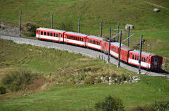 Alpine express Royalty Free Stock Photography