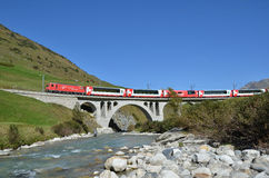 Alpine express Stock Images