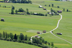Alpine fileds Royalty Free Stock Photo