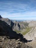 Alpine folds Royalty Free Stock Photo