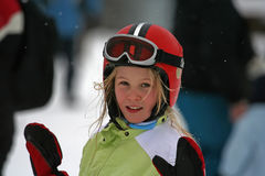 Alpine Girl Royalty Free Stock Images