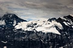 Alpine glacier Stock Photo