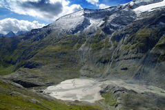 Alpine glacier lake Stock Photography