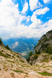 Alpine gully Royalty Free Stock Images
