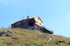 Alpine Hütte Bonn Matreier Hutte, Alpen Hohe Tauern, Österreich Lizenzfreies Stockfoto