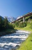 Alpine highway Stock Photos