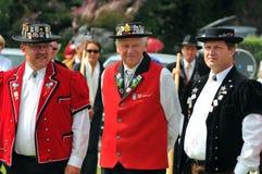 Alpine Horn Festival Stock Photography