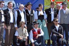 Alpine Horn Festival Stock Photos