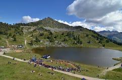 Alpine Horn Festival Stock Images