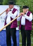 Alpine Horn Festival Royalty Free Stock Image