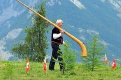 Alpine Horns Royalty Free Stock Photos