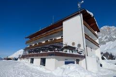 Alpine Hotel Stock Image
