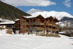 Alpine House Royalty Free Stock Photos