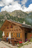 Alpine house. In south tyrol,Italy Stock Images