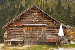Alpine house. In south tyrol,Italy Stock Photography