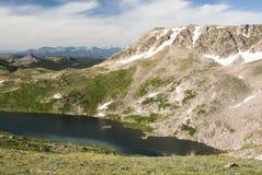 Alpine Lake. Along the Beartooth Highway Royalty Free Stock Photo