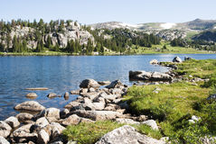 Alpine Lake Royalty Free Stock Photos