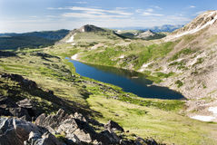 Alpine Lake. Along the Beartooth Highway Royalty Free Stock Images