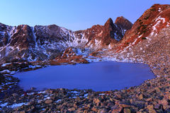 Alpine lake Royalty Free Stock Photo