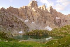 Alpine lake Stock Photo