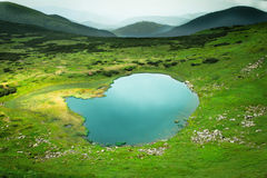 Alpine lake Stock Photography