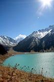 Alpine lake Royalty Free Stock Photo