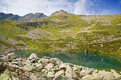 Alpine lake. Royalty Free Stock Images