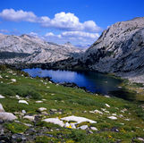Alpine lake Stock Images