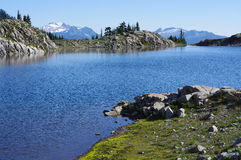 Alpine lake Ann Royalty Free Stock Image