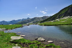 Alpine lake. Bognanco valley. Italy Royalty Free Stock Photography