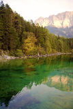 Alpine Lake in Fall Stock Photos