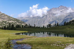 Alpine lake Royalty Free Stock Images