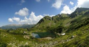 Alpine lake in the Italian Dolomites Stock Photography