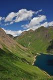 Alpine lake (lago) Morasco, Formazza valley, Italy Royalty Free Stock Images
